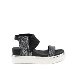 Rico Sandal Black White Mix/Black
