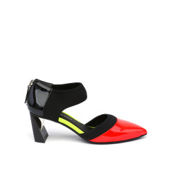 Zink D'Orsy Mid Neon Red/Disco/Black