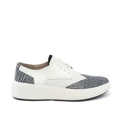 Bo Geo Mens White/Black White Mix