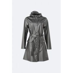 Curve Jacket Metallic Charcoal