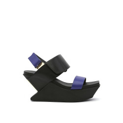 Delta Wedge Sandal Midnight