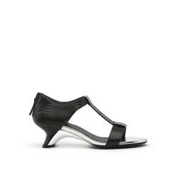 Twirl Sandal Mid Black