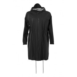 Long W Jacket Black