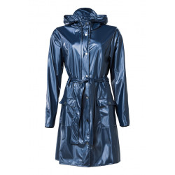 Curve Jacket Shiny Blue