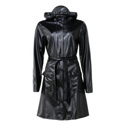 Curve Jacket Shiny Black