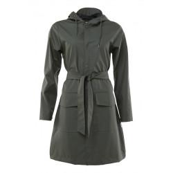 Belt Jacket Green