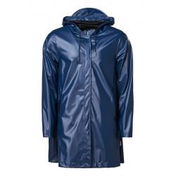 A-line Jacket Shiny Blue