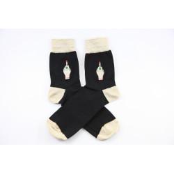 Laganini Socks Black/Gold