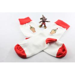 Laganini Socks White/Red