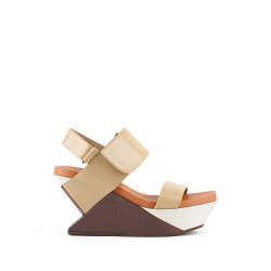 Delta Wedge Sandal Toffee