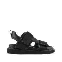 Geo Sandal Mens Black
