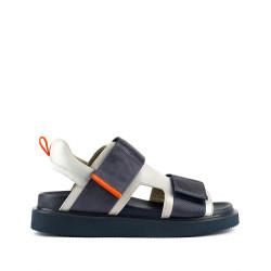 Geo Sandal Mens Blue Beat