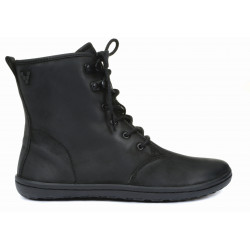 Gobi Hi Top Ladies Black Wild Hide