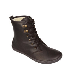 Gobi Hi Top Ladies Brown Wild Hide